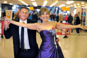 Maggie and Darren dance for Digital Switchover