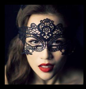 Masquerade Mask - Stretch Lace