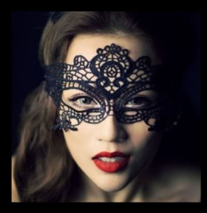 Masquerade Mask - Stretch Lace