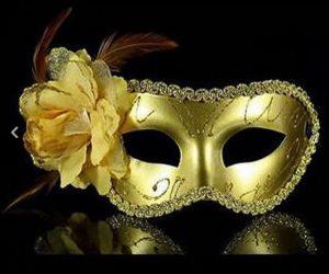 Masquerade Mask - Rose