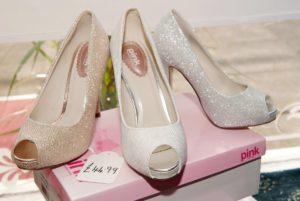 Glitter Mesh Shoes