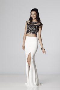 Belinda - Black and Ivory